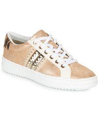 Geox Lage Sneakers D Pontoise - Naturel