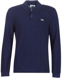 Lacoste - Polo Shirt Lange Mouw L1312 - Lyst
