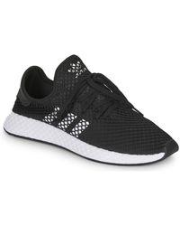 adidas Lage Sneakers Deerupt Runner - Zwart