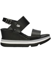 chaussures femme KEYS escarpins noir daim BS941