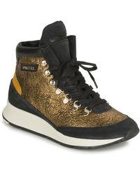 Philippe Model Hoge Sneakers Montecarlo - Metallic