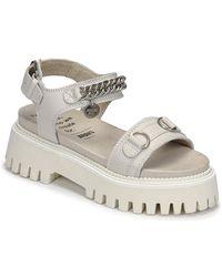 Bronx Sandali Groovy Sandal - Bianco