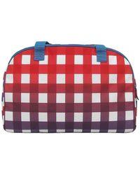Reebok Lg Grid Duffle Travel Bag - Multicolour
