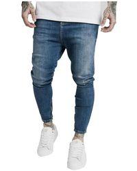 SIKSILK Jeans - Bleu
