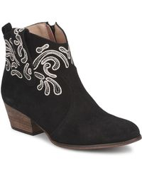 KMB - - Women's Low Ankle Boots In Black - Lyst