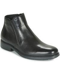 Geox Sneakers Alte U Dublin - Nero
