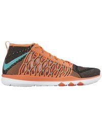 Nike Train Ultrafast Flyknit Chaussures - Orange