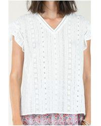 Molly Bracken - Tops y Camisetas TOP G813P21 WHITE - Lyst