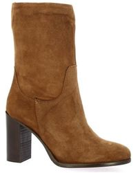 Pao - Boots Boots cuir velours - Lyst