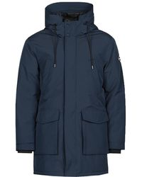 Replay Parka Jas M8099 - Blauw