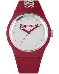 Superdry Urban Style Uni Montre - Rouge