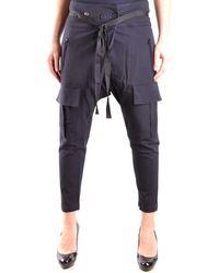Dondup PANTALON FEMME Pantalon - Bleu