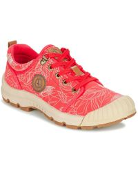 Aigle Tenere® Light Low W Canvas Shoes (trainers) - Pink