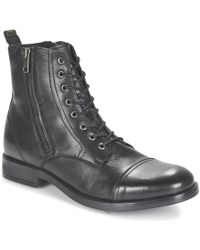 DIESEL   D-kallien Men's Mid Boots In Black   Lyst