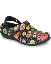 Crocs™ Klompen Bistro Graphic Clog - Zwart
