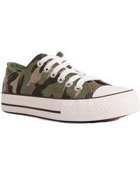 Primtex Baskets militaire camouflage tennis - Multicolore