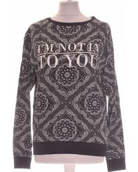H&M Sweat Femme 36 - T1 - S Sweat-shirt - Noir