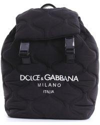 Dolce & Gabbana Rugzak Bm1756aw140 - Zwart