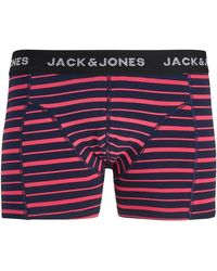 Jack & Jones Jack Jones Boxer 12157763 JACSIMON TRUNKS NOOS DIVA PINK - Rosa