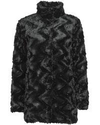Vero Moda Mantel Vmcurl - Zwart