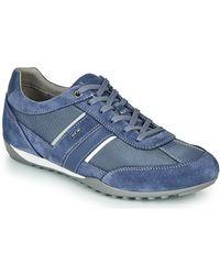 Geox Lage Sneakers U Wells - Blauw