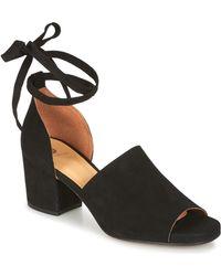 Hudson Jeans - Metta Women's Sandals In Black - Lyst