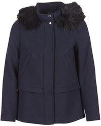 Esprit | Carda Women's Coat In Blue | Lyst