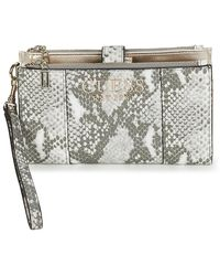 Guess Portemonnee Holly Slg Double Zip Organizer - Meerkleurig