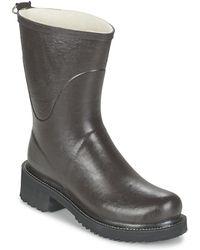 Ilse Jacobsen - Rub36 Women's Wellington Boots In Brown - Lyst