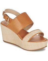 Paul & Joe - Bloc Women's Sandals In Brown - Lyst