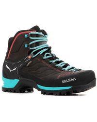 Salewa Ws Mtn Trainer Mid Gtx 63459 0674 Walking Boots - Gray