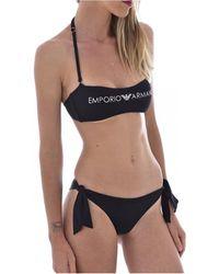 Armani Bikini 262636 1P313 - Mujer - Negro
