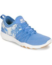 Nike - Free Trainer 7 Women's Trainers In Blue - Lyst