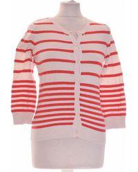 H&M Gilet Femme 34 - T0 - Xs Gilet - Rouge