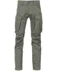 G-Star RAW ROVIC ZIP 3D STRAIGHT TAPERED Pantalon - Vert