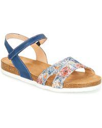 Think! - Zifudeke Women's Sandals In Blue - Lyst