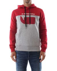 G-Star RAW D12591 A433 GRAPHIC 10 - Rosso