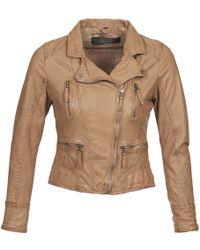 Oakwood - Camera Women's Leather Jacket In Brown - Lyst