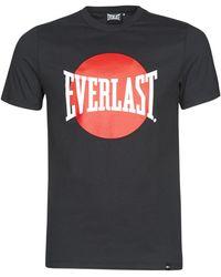 Everlast T-shirt Korte Mouw Numata - Zwart