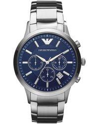 Armani Horloge Ar2448 - Metallic