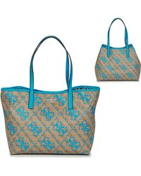 Guess Boodschappentas Vikky Tote - Bruin