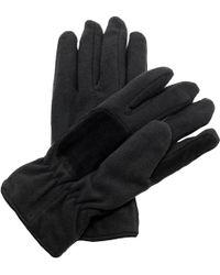 Regatta Unisex Thinsulate Thermal Fleece Winter Gloves Men's Gloves In Black