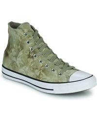 Converse Zapatillas altas CHUCK TAYLOR ALL STAR SUMMER DAZE - WASH HI - Verde