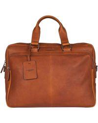 Burkely Laptoptas Leren Laptoptas Workbag 15.6 Inch Antique Avery - Bruin