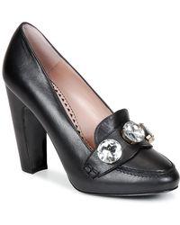 Boutique Moschino STONES femmes Chaussures escarpins en Noir