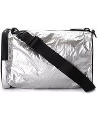 Y-3 Shoulder Bag Model Mini Gym Bag - Metallic