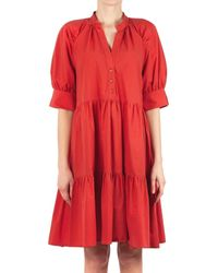 Ottod'Ame PCH Robe - Rouge