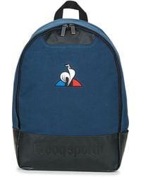 a56353a9c4 Le Coq Sportif - ESS Backpack femmes Sac à dos en bleu - Lyst