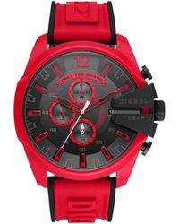 DIESEL Reloj analógico DZ4526 - Rojo