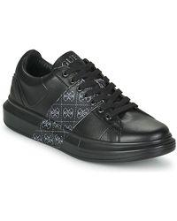 Guess Lage Sneakers Salerno Ii - Zwart
